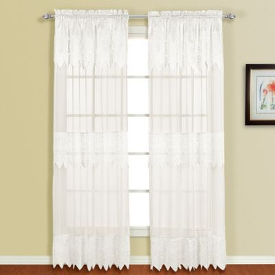 Buy White Curtains from Bed Bath & Beyond