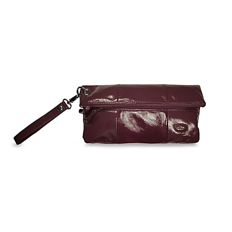 Amy Michelle™ Poppy Diaper Clutch in Eggplant