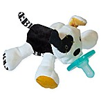 Mary Meyer WubbaNub™ Puppy Infant Pacifier in Black/White