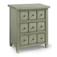 Crosley Furniture Sienna Accent Chest in Sage