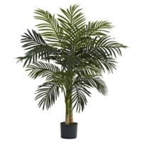 Nearly Natural™ 4-Foot Golden Cane Palm Tree in Nursery Pot