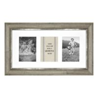3-Photo Barnwood Collage Frame