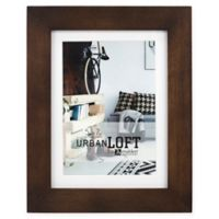Malden® Urban Loft 5-Inch x 7-Inch Matted Wood Photo Frame in Walnut