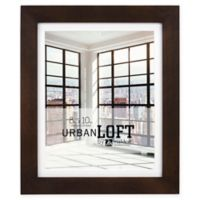 Malden® Urban Loft 8-Inch x 10-Inch Matted Wood Photo Frame in Walnut