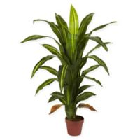 Nearly Natural Real Touch 4-Foot Artificial Dracaena Plant