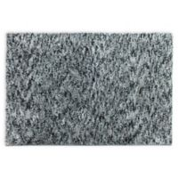 "Carpet Art Deco Celeste 1'8"" X 2'10"" Tufted Accent Rug in Charcoal"