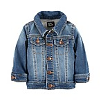 OshKosh B'gosh® Size 3M Degrassi Wash Knit Denim Jacket