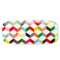 French Bull® Ziggy Multicolor Chevron Rectangular Platter