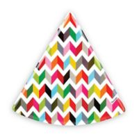 French Bull® Ziggy Multicolor Chevron Pie Plates (Set of 6)