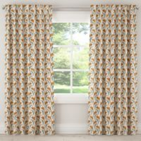 Skyline Furniture Vanves Floral 63-Inch Rod Pocket/Back Tab Window Curtain Panel