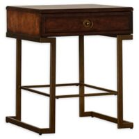 Stanley Furniture Mulholland Square End Table in Pecan