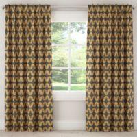 Skyline Urban Caterpillar 120-Inch Rod Pocket Window Curtain Panel in Grey
