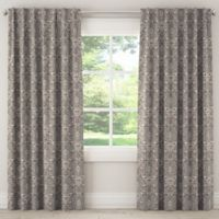 Skyline Furniture Telesto 63-Inch Rod-Pocket Window Curtain Panel in Grey