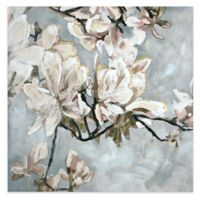 Blooming Flower 24-Inch Canvas Wall Art