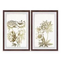 Marmont Hill Desert Blooms II Framed Diptych Wall Art