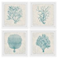 Marmont Hill Coral Group 48-Inch Square Framed Quadriptych Wall Art