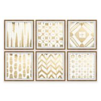 Marmont Hill Mombasa Memories III 36-Inch x 24-Inch Framed Hexaptych Wall Art