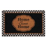 "Achim Home Sweet Home 18"" x 30"" Multicolor Coir Door Mat"