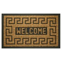 "Achim Key Welcome 18"" x 30"" Coco Door Mat in Brown"