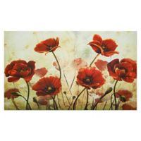 "Achim Springtime 18"" x 30"" Multicolor Rubber Door Mat"