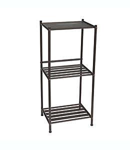 Organizador de acero Simply Essential™ de 3 niveles color bronce aceitado