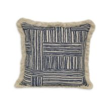 Jungalow by Justina Blakeney Quinn Square Throw Pillow in Indigo/Natural