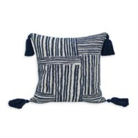 Jungalow by Justina Blakeney Quinn Square Throw Pillow in Indigo