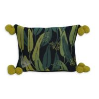 Jungalow by Justina Blakeney Euc Oblong Throw Pillow in Blue/Green