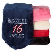 Sports Fleece Blanket