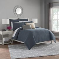 Haven Twin Duvet Cover Set in Slate