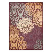 """Safavieh Medallions Red 48"""" x 67"""" Accent Rug"""