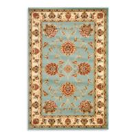 Safavieh Prescott Blue/Ivory 6-Foot 7-Inch x 9-Foot 6-Inch Room Size Rug