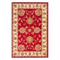 Safavieh Prescott Red/Ivory 8-Foot 9-Inch x 12-Foot Room Size Rug