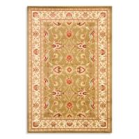Safavieh Vanity Green/Ivory 4-Foot x 6-Foot Accent Rug