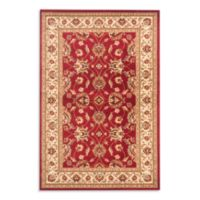 Safavieh Vanity Red/Ivory 4-Foot x 6-Foot Accent Rug