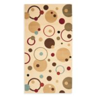 Safavieh Vera 5-Foot 3-Inch x 7-Foot 7-Inch Room Size Rug in Ivory/Multi
