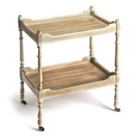 Butler Specialty Company Rayburn Serving Cart in Driftwood