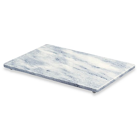 white marble inch x inch cutting board  bed bath  beyond,