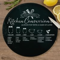 Kitchen Conversions 12-Inch Round Glass Cutting Board