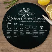 Kitchen Conversions 12-Inch Round Glass Cutting Board