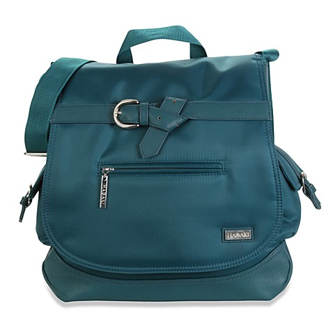 Hadaki Kiko Saddle Bag in Dark Teal