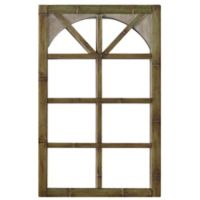 Windowpane 32.39-Inch x 20.83-Inch Wall Mirror