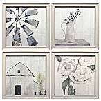 Prinz Ava Barrett Farmhouse Framed Wall Art (Set of 4)