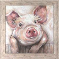 Lola Pig Indoor/Outdoor Wall Art