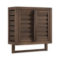 Haven Bamboo Wall Cabinet in Mocha