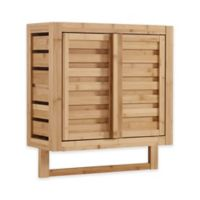 Haven Bamboo Wall Cabinet in Natural