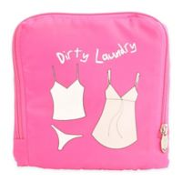 "Miamica® ""Dirty Laundry"" Travel Laundry Bag in Pink"