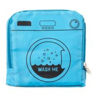 "Miamica® ""Wash Me"" Travel Laundry Bag in Blue"