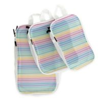 Miamica® Rainbow 3-Piece Packing Cube Set