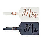 "Miamica® ""Mr."" & ""Mrs."" Luggage Tags (Set of 2)"